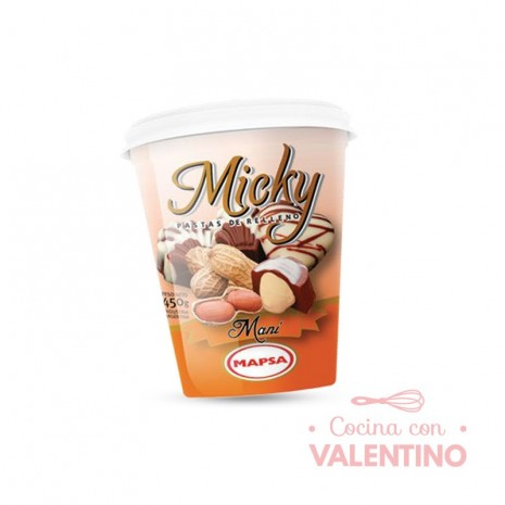 Pasta Relleno Micky Mani - 450Grs
