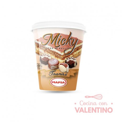 Pasta Relleno Micky Tiramisu - 450Grs