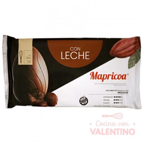 Baño de Moldeo-Leche Tableta Mapricoa - 800Grs