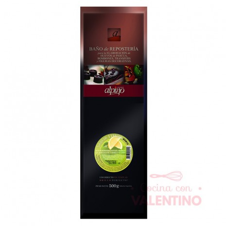 Baño de Moldeo Alpino Tableta Limon - 500Grs
