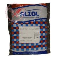 Cacao Negro Soluble Preto Alzol - 1Kg