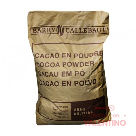 Cacao Amargo Soluble Barry Callebaut - 25Kg