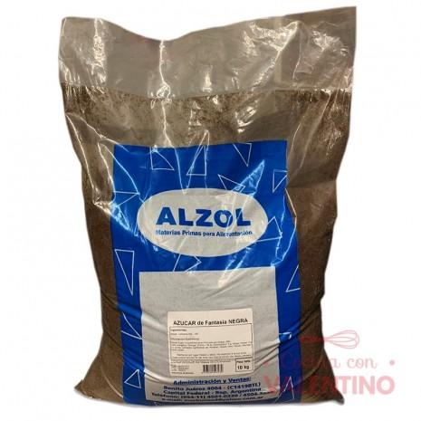 Azucar Negra Alzol - 10 Kg