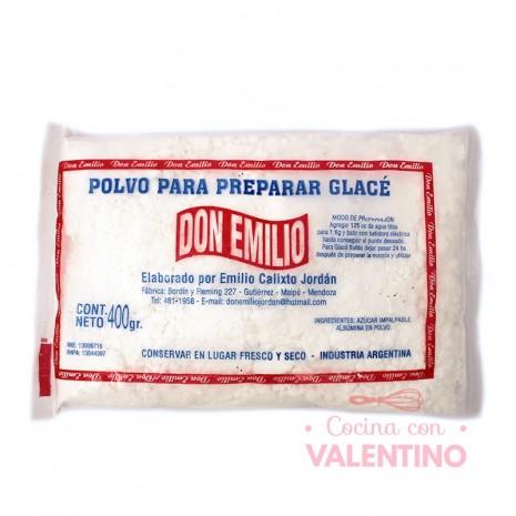 Polvo Glase Real Don Emilio - 400Grs
