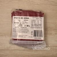 Pasta de Goma Bordo - 500Grs