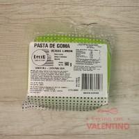 Pasta de Goma Verde Limon - 500Grs