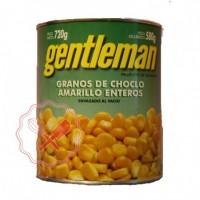 Choclo Grano Amarillo Gentleman - 720Grs