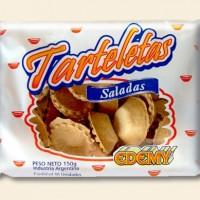 """Tarteletas Saladas Chicas """"Edemy"""" Bandeja - 20u"""