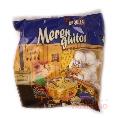 Merengue Mediano Bco - 150Grs