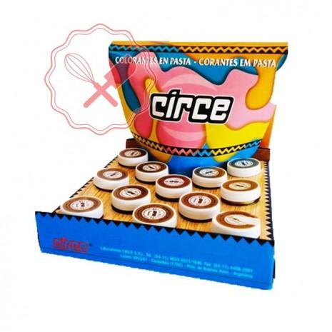 Colorante en Pasta Caja 15 Grs Circe - 12u