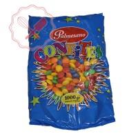 Confites Piedritas Lentejitas Frutales - 1Kg