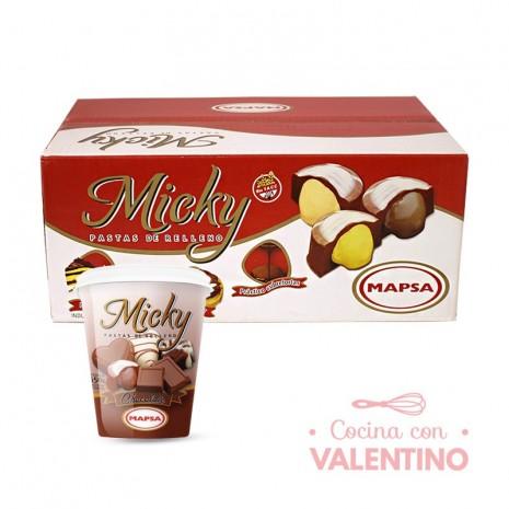 Pasta Relleno Chocolate Mapsa Caja - 6u
