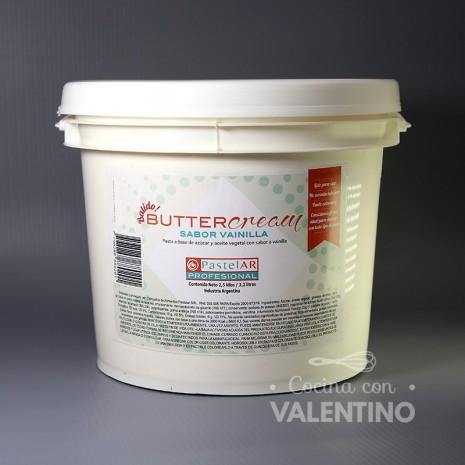 Buttercream Sabor Chantilly PastelAR - 2.5Kg