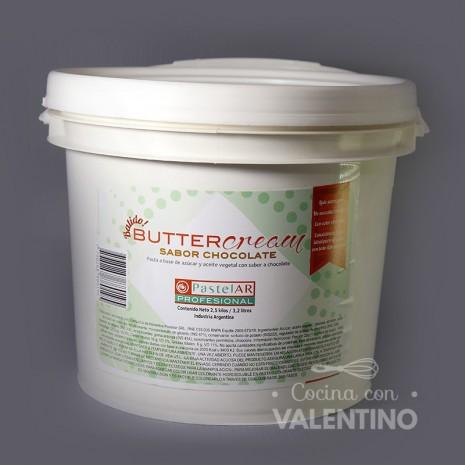 Buttercream Sabor Chocolate PastelAR - 2.5Kg