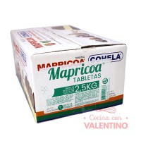 Baño de Moldeo-Leche Tableta Mapricoa - Caja 2.5Kg (5x500Grs)