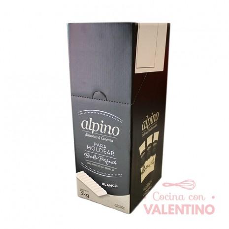 Baño de Moldeo-Bco Alpino Tableta - Caja 3 Kg (6u)