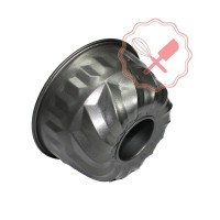 Molde Antiadherente Flan/ Bundt 18x9.5cm