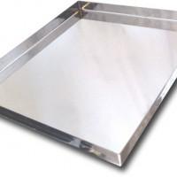 Bandeja Alum. p/ Horno c/ Pestaña 1.25mm 40x60x2cm