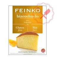 Prem. Bizcochuelo Naranja s/ Gluten Feinko - 500Grs