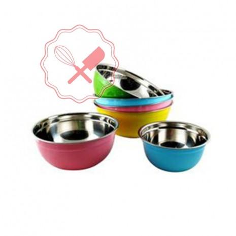 Bowl Acero Colores