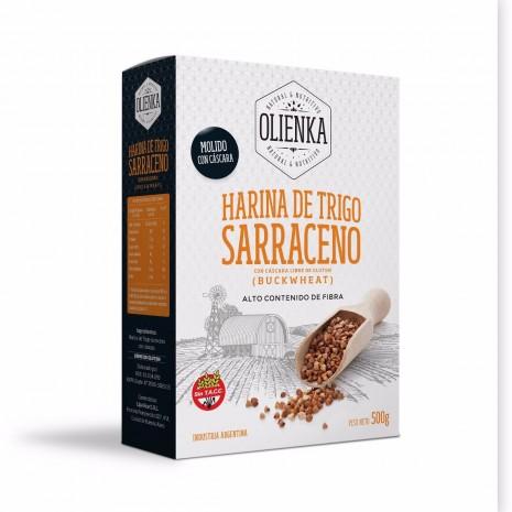Harina de Sarraceno Fuente de Fibra Olienka - 10Kg