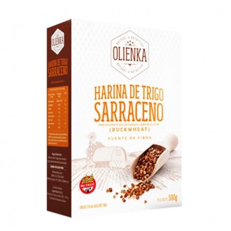 Harina de Sarraceno Alto Cont. en Fibras Olienka  - 10Kg