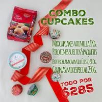 Combo Navidad Cupcakes