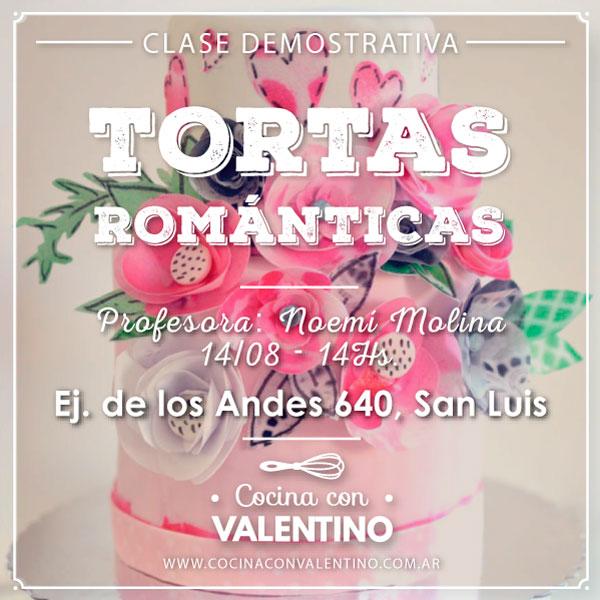 tortas romaticas